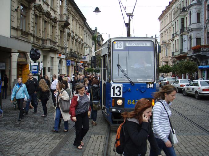 22nd July Krakow Poland Troopytracks