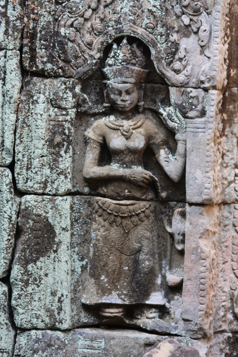 Alcove carving Preah Khan