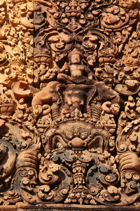 Carving deatil Banteay Srey