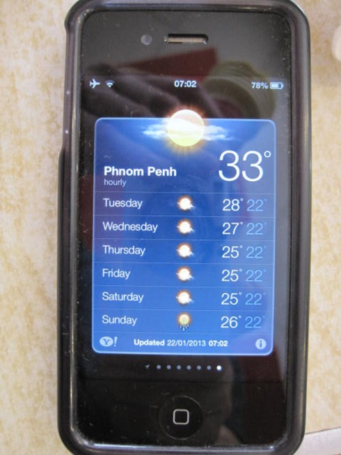 Hot in Phnom Penh