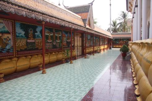 Inside monestary