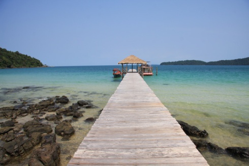 Jetty at Saracen Beach Bungalows