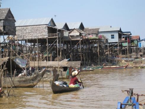Kompong Pluk village