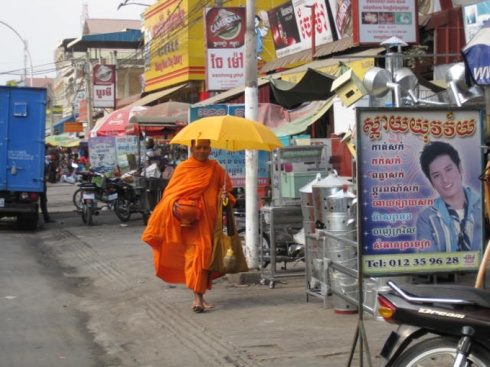 Monks shop too!