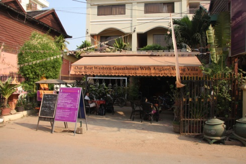 Our Best Western Gueshouse in Siem Reap