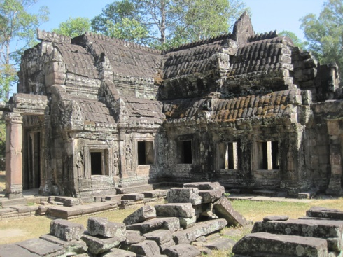 Small Temple at Preah Khan