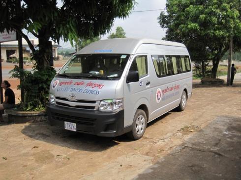 VIP minibus
