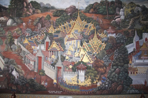 Wall painting Palace