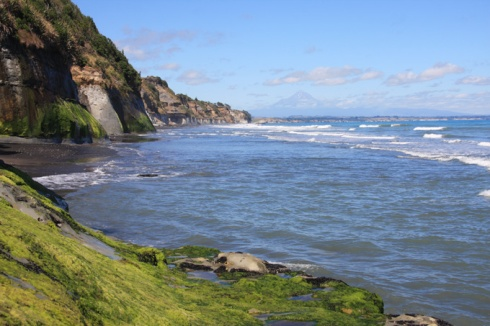 Cliffs and Taranaki