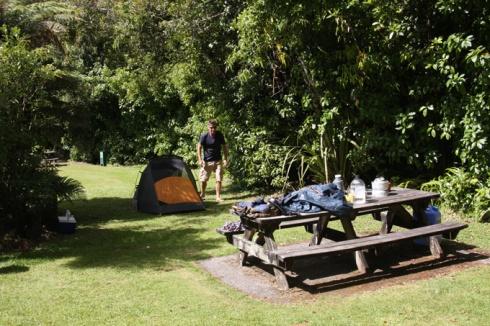 DOC picnic area