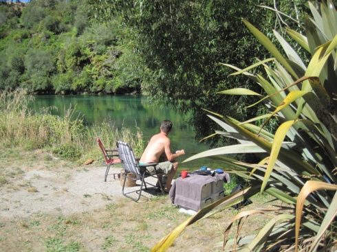 Free camping near Lake Taupo