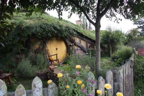 Hobbit front door