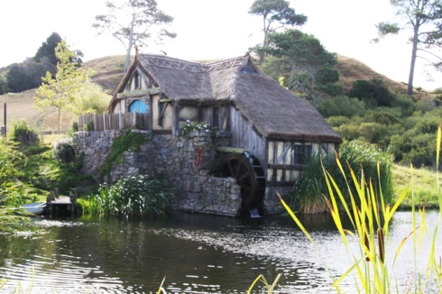 Hobbiton water mill