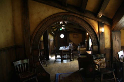 Inside Green Dragon pub