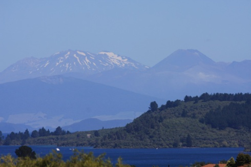 Lake Taupo and Tongariro