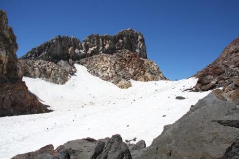 Mt Taranaki crater
