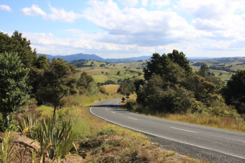 North of Auckland - empty roads