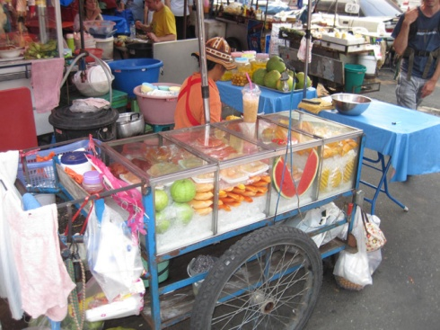 Road side fruit stall