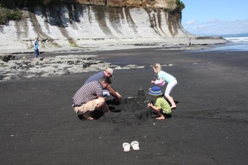 Sand castle team