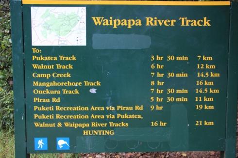 Waipapa swimming holes
