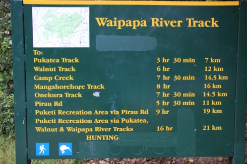 Waipapa swimming holes